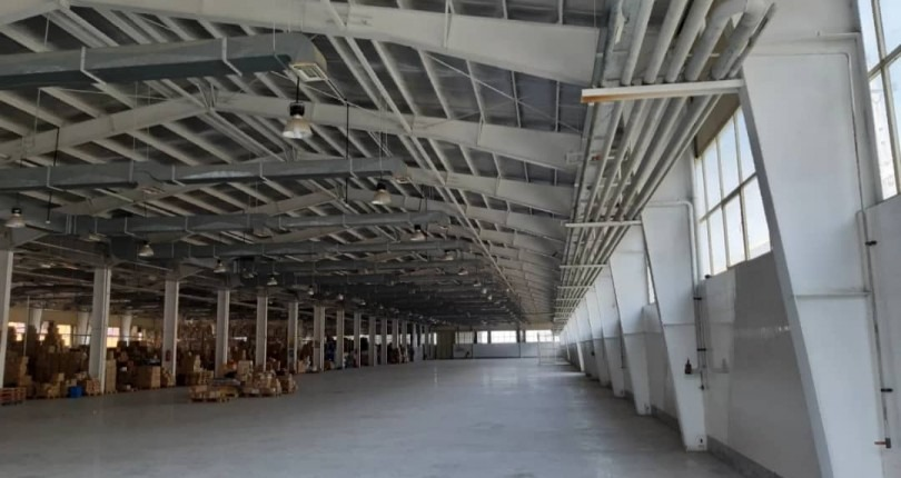 فروش فوری کارخانه اسکلت فلزی و سوله سازی در صفادشت