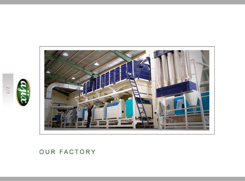 فروش شرکت و کارخانه معتبر فراوری و بسته بندی پسته و خشکبار